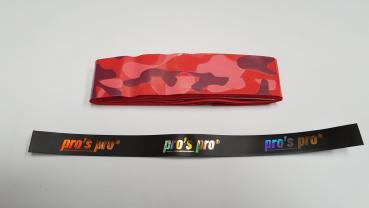 Griffband Camouflage RED